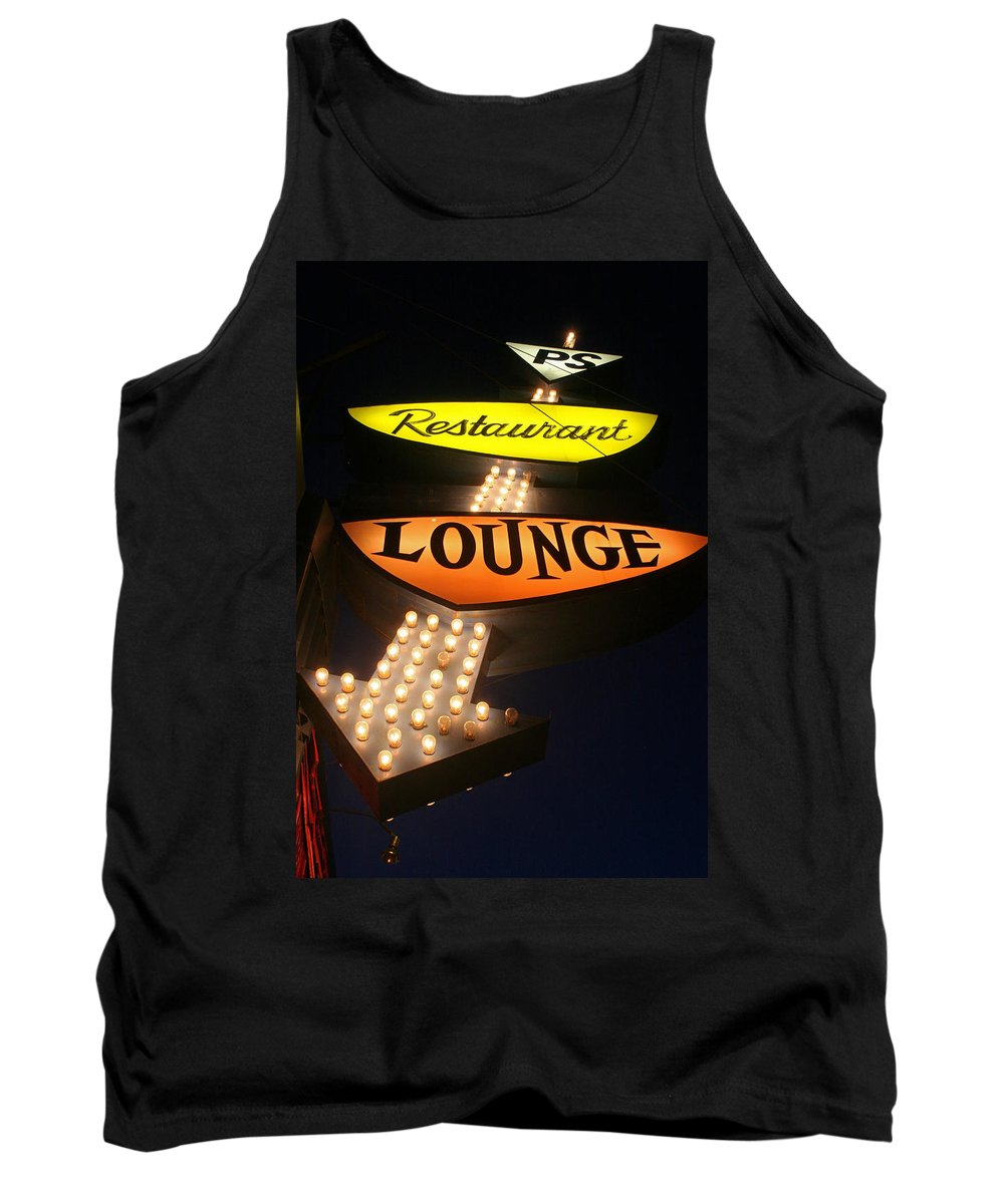 Ps Lounge Tank Top featuring the photograph Ps Lounge by Jeffery Ball