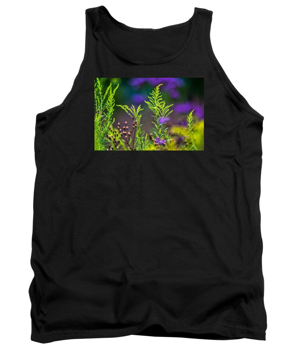 Wildflowers Tank Top featuring the photograph Purple Rain by Darwin White