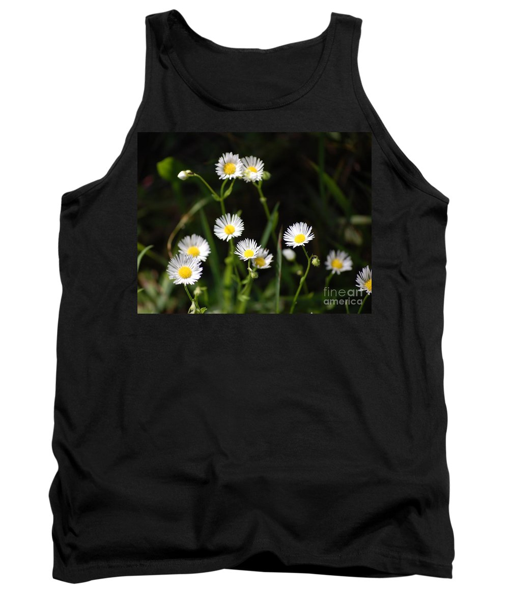 Digital Photo Tank Top featuring the photograph Pushing Up..... by David Lane