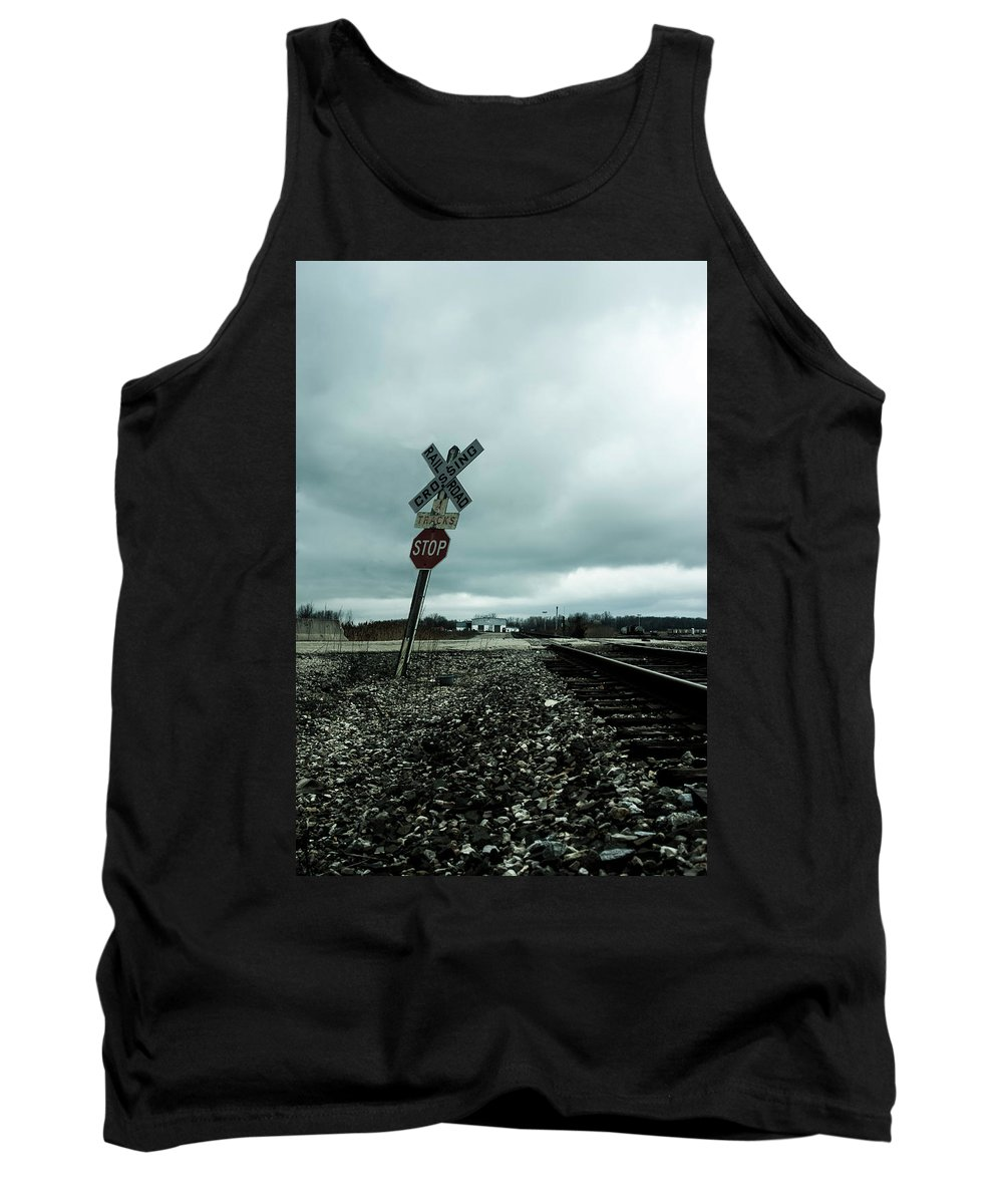 Tank Top featuring the photograph Pushover by Melissa Newcomb