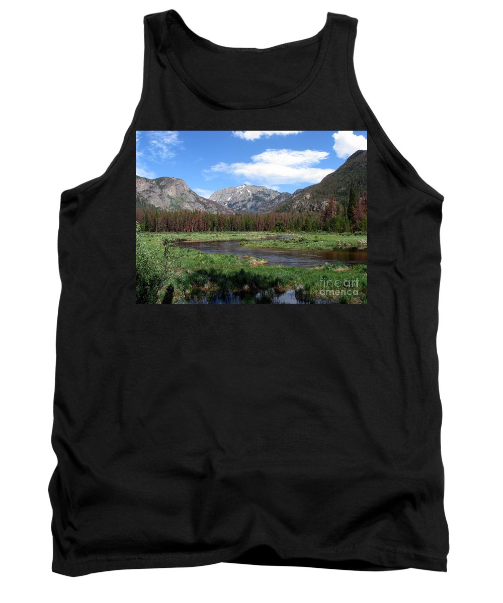Nature Tank Top featuring the photograph Quiet by Amanda Barcon