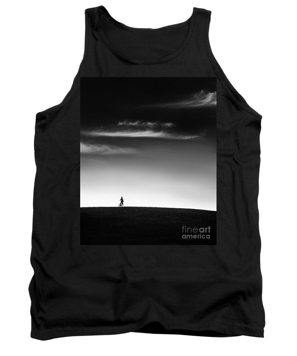 Boy Tank Top featuring the photograph Racing The Wind by Dana DiPasquale