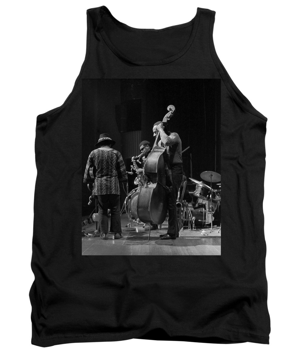 Rahsaan Roland Kirk Tank Top featuring the photograph Rahsaan Roland Kirk 2 by Lee Santa