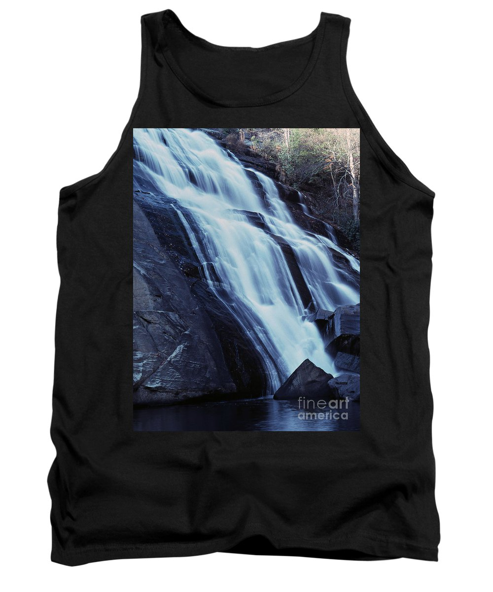 Waterfall Tank Top featuring the photograph Rainbow Falls by Richard Rizzo
