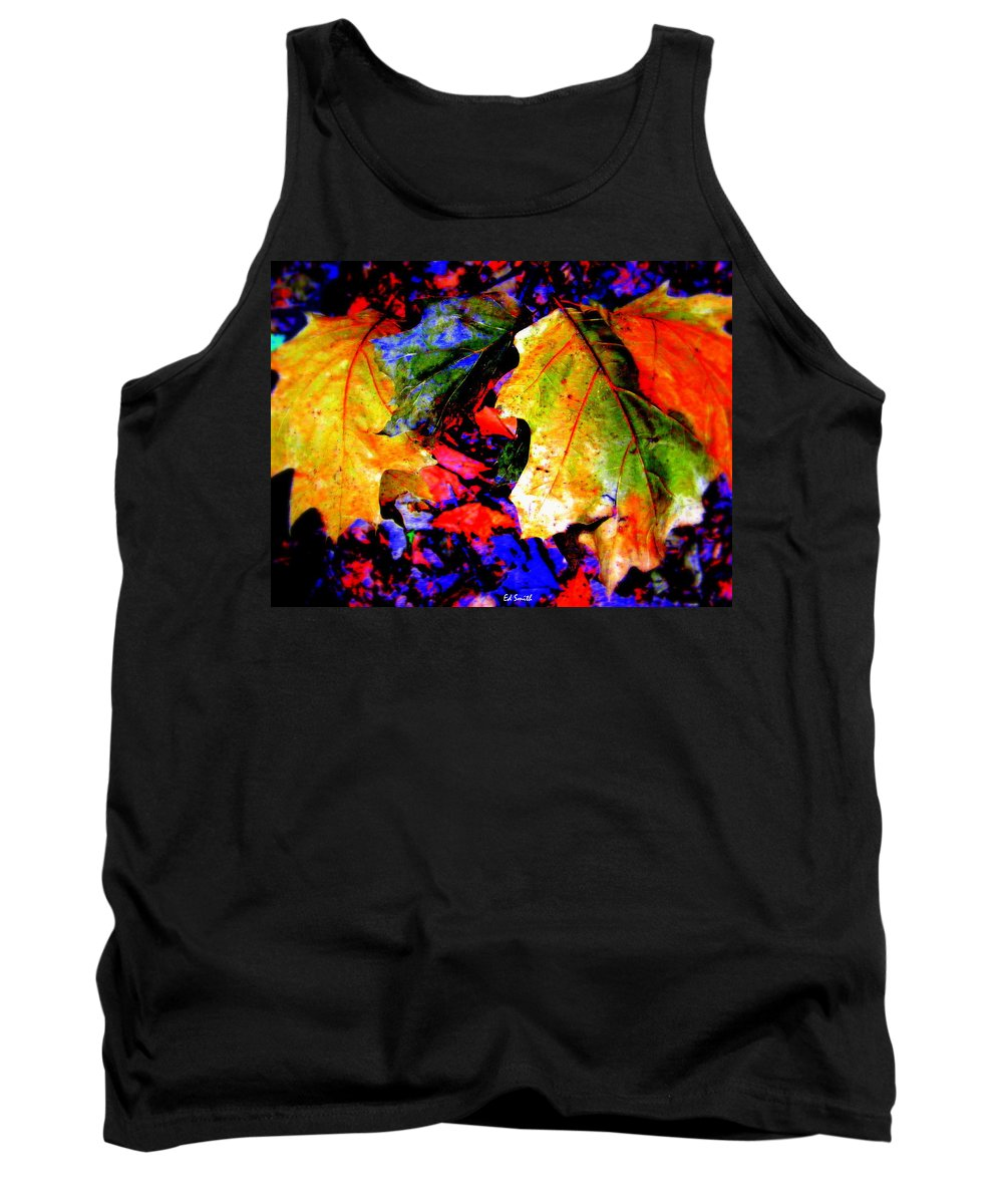 Rainbows Tank Top featuring the photograph Rainbows by Ed Smith