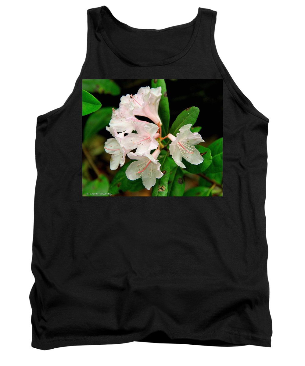 Chapman Rhododendron Tank Top featuring the photograph Rare Florida Beauty - Chapmans Rhododendron by Barbara Bowen