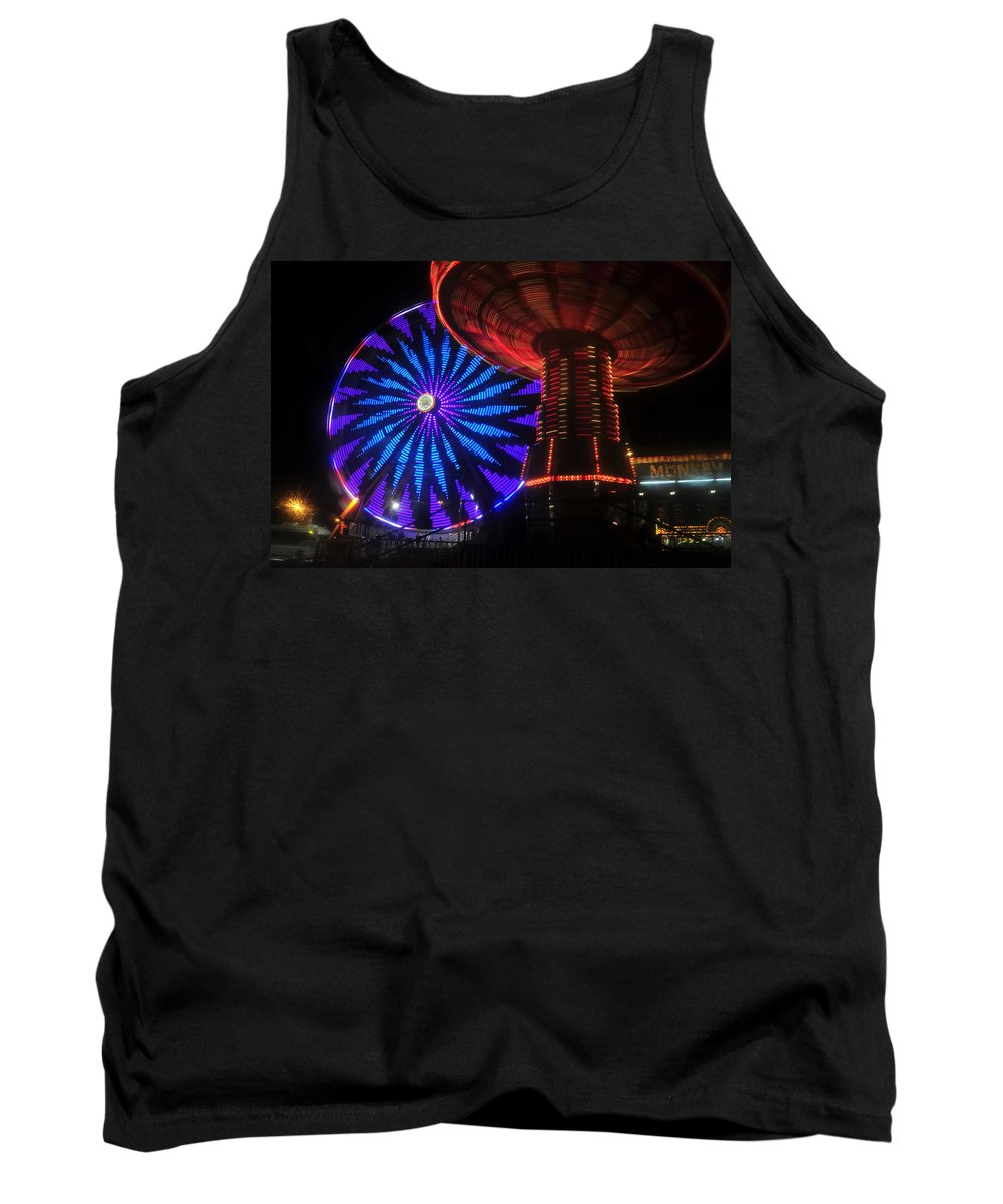 Florida State Fair Tank Top featuring the photograph Rare Light by David Lee Thompson