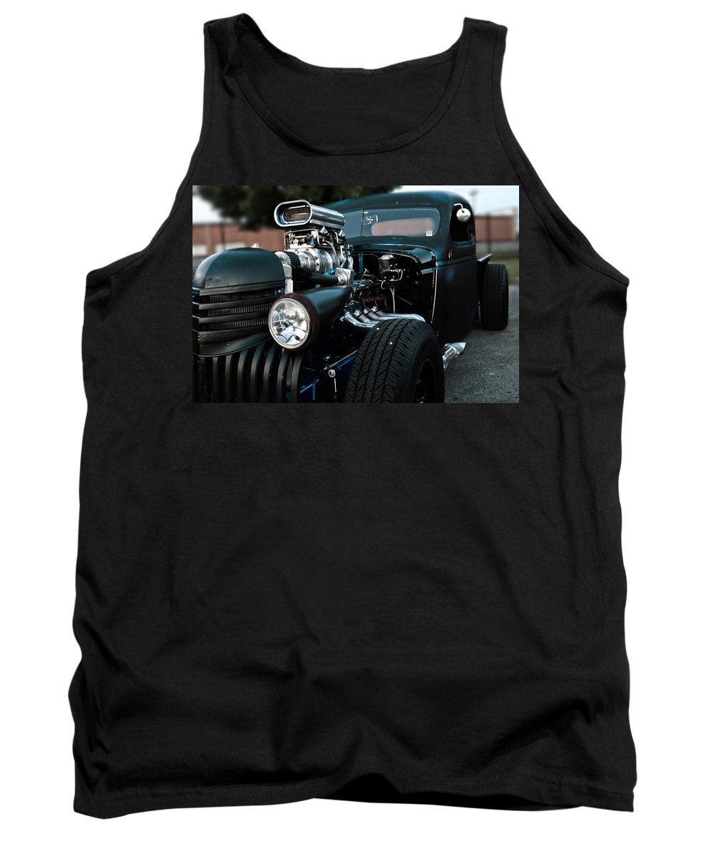 Rat Rod Tank Top featuring the photograph Rat Rod Coupe by Ian Arsenault