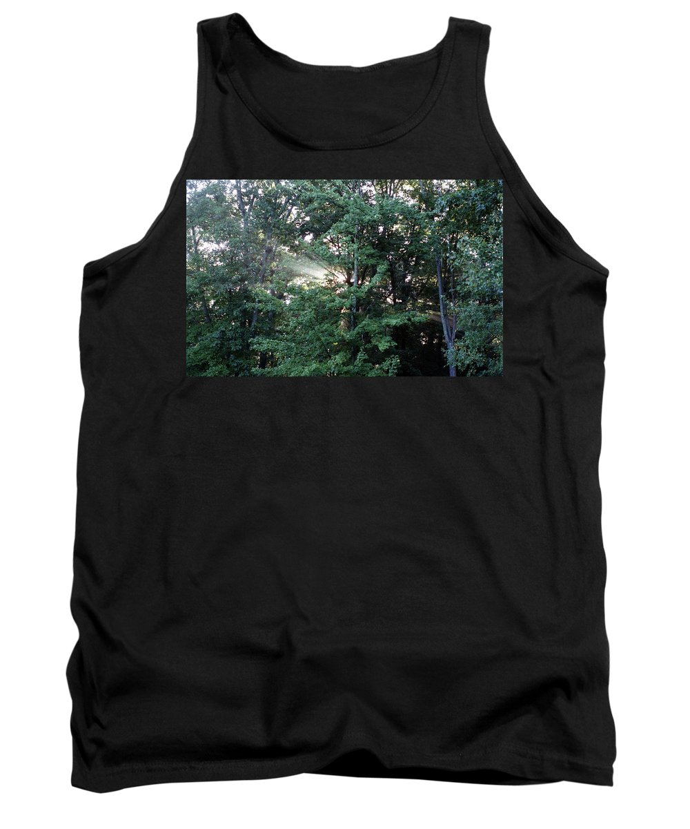Sunlight Tank Top featuring the photograph Rays Of Sun by Megan Greenfeld