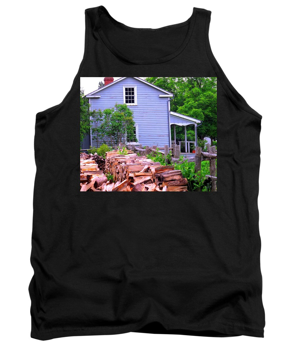 Pioneer Tank Top featuring the photograph Ready For Winter by Ian MacDonald
