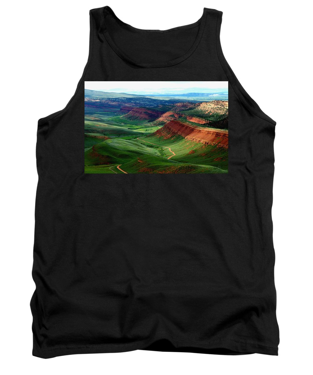 Jenny Gandert Tank Top featuring the photograph Red Canyon by Jenny Gandert