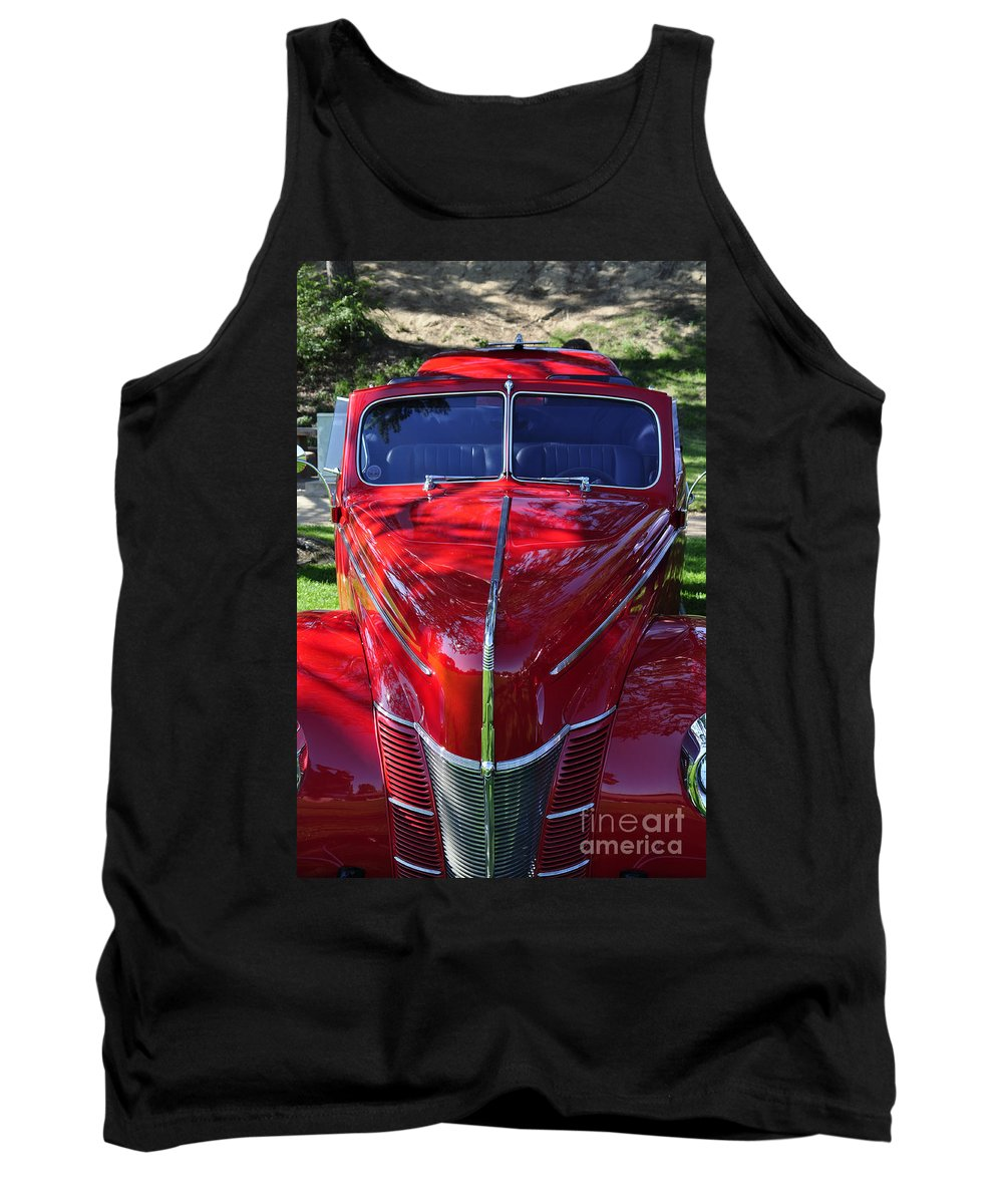 Clay Tank Top featuring the photograph Red Hot Rod by Clayton Bruster