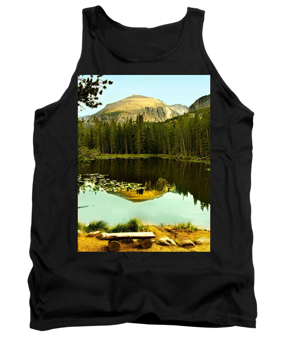 Reflection Tank Top featuring the photograph Reflection by Marilyn Hunt