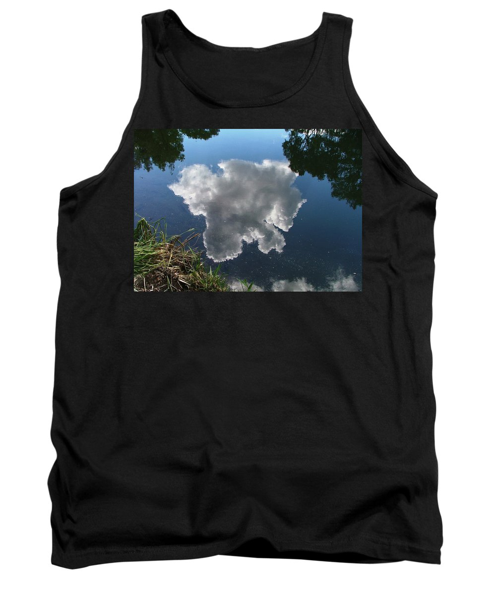 Pecos Tank Top featuring the photograph Reflection by Steven Natanson