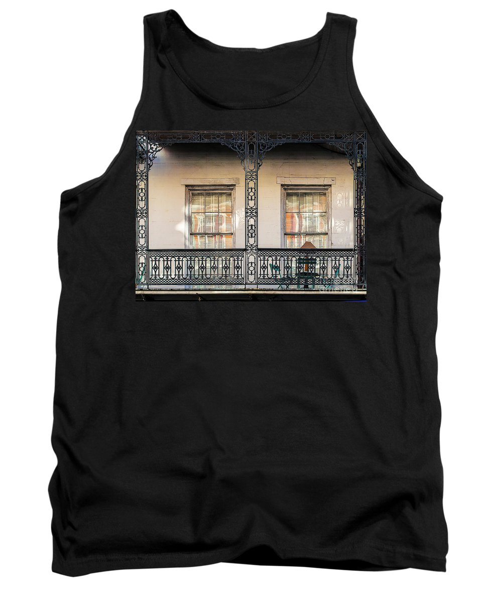Window Tank Top featuring the photograph Reflections A1 by Frances Ann Hattier