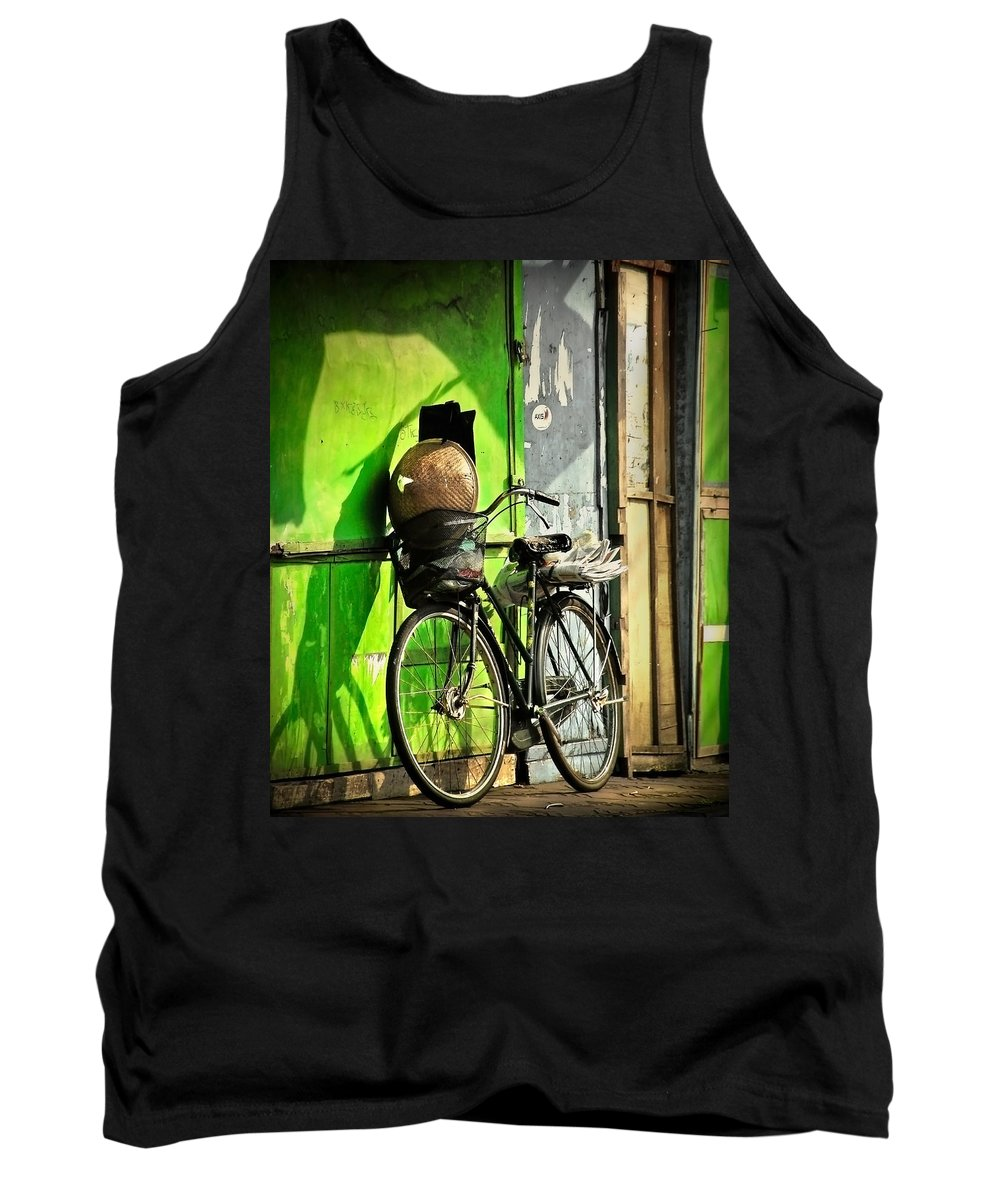 Tank Top featuring the photograph Resting by Charuhas Images