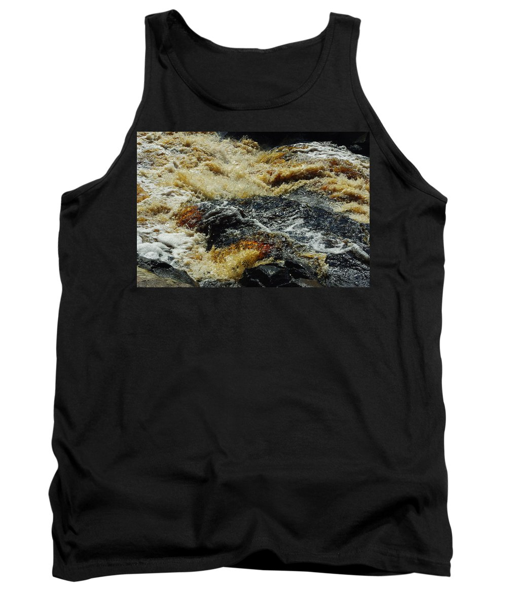 River Tank Top featuring the photograph River On The Rocks by Alice Markham
