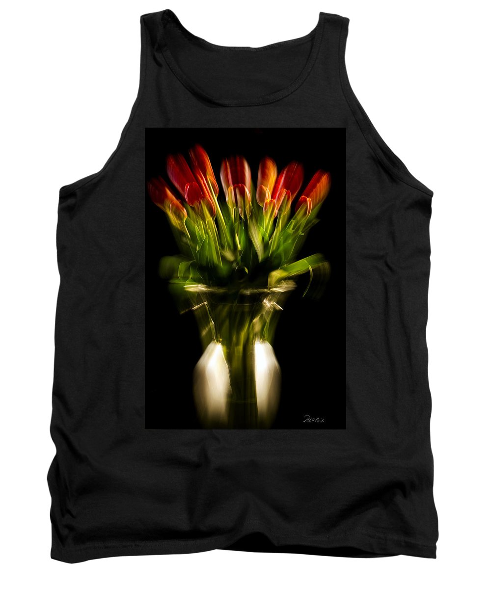 Photography Tank Top featuring the photograph Rocket Propelled Tulips by Frederic A Reinecke