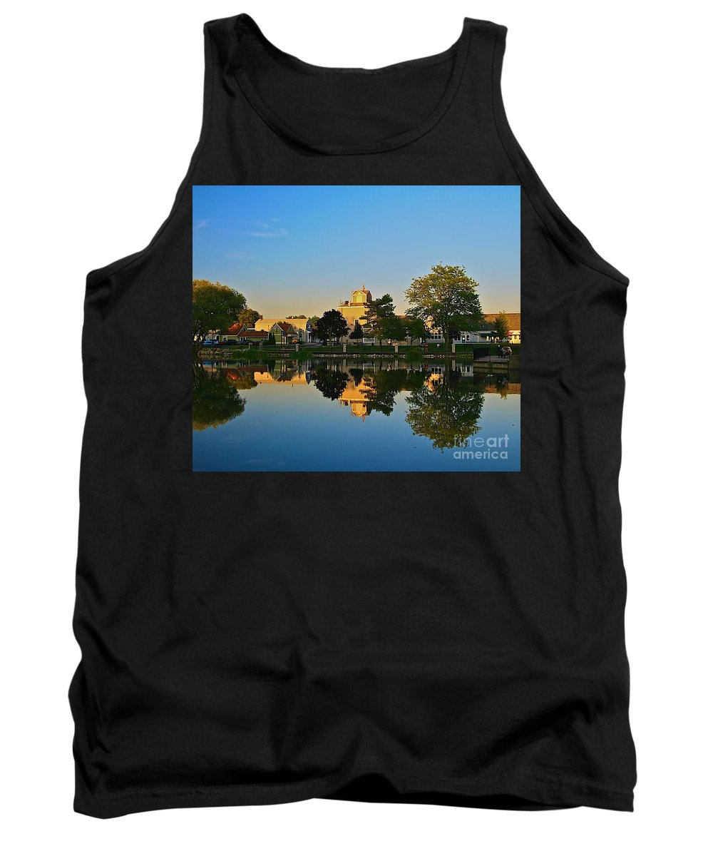 Places Tank Top featuring the photograph Rockford Mi-1 by Robert Pearson