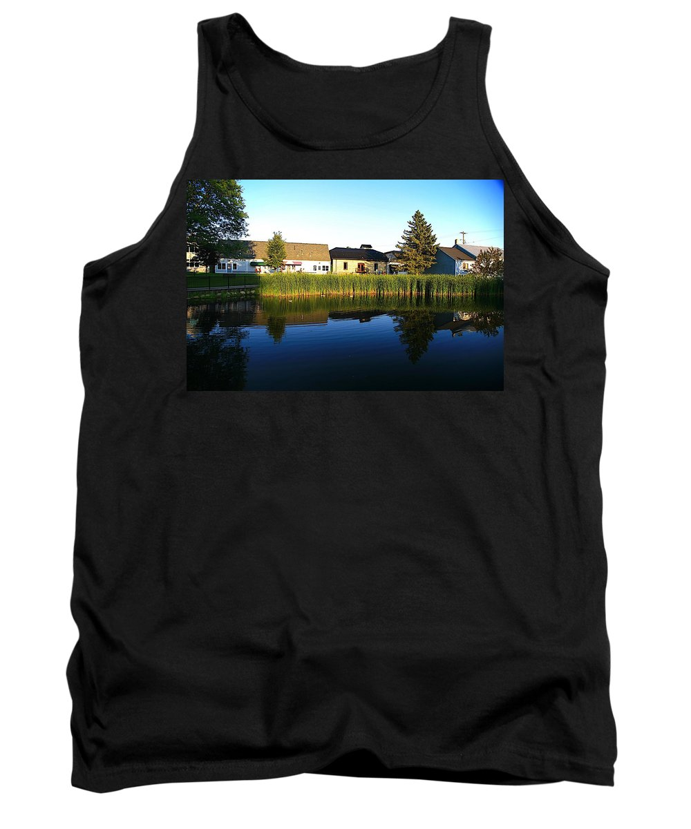 Places Tank Top featuring the photograph Rockford Mi-4 by Robert Pearson