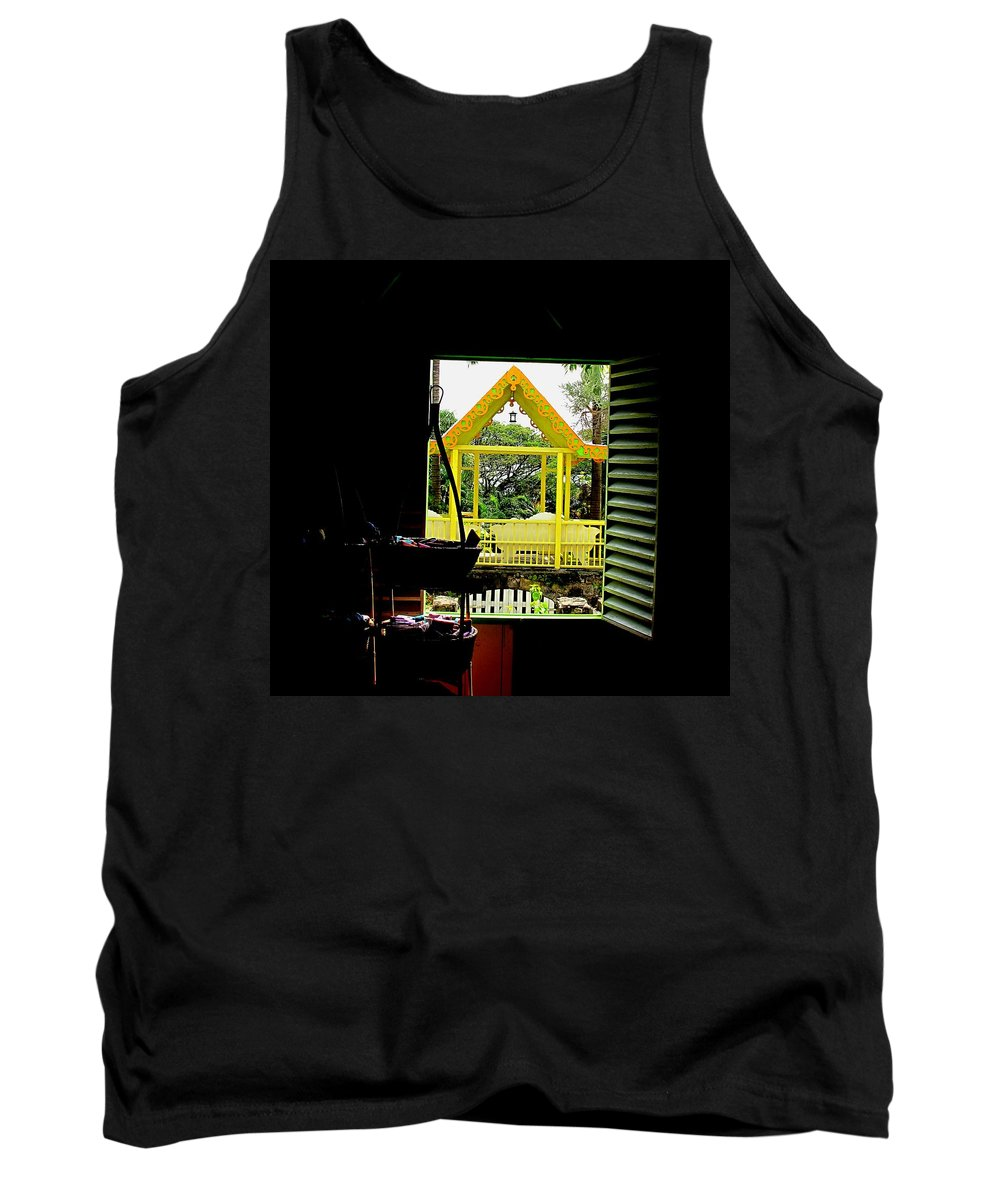 Romney Tank Top featuring the photograph Romney Manor by Ian MacDonald
