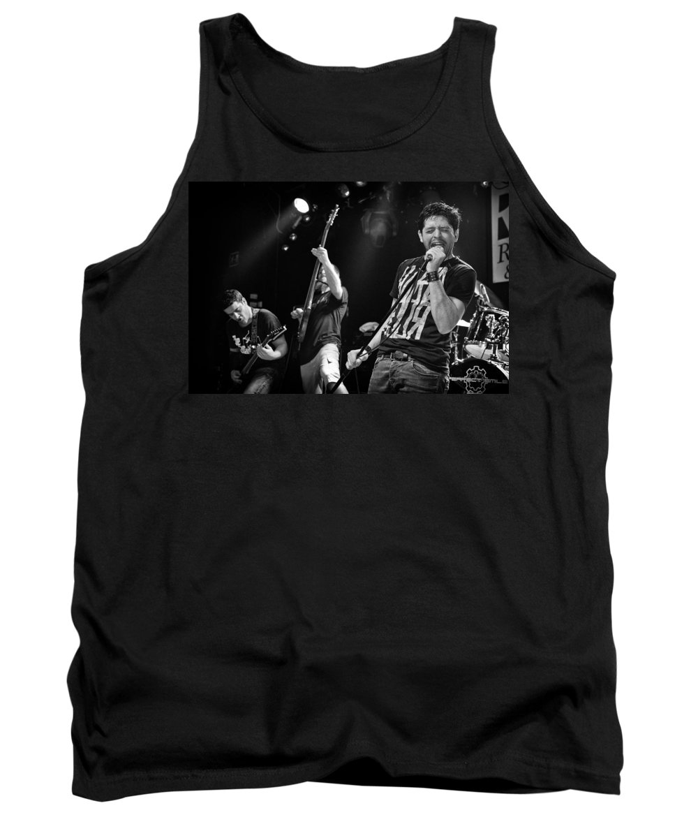 Ritchie Blackmore Tank Top featuring the photograph Ronnie Romero 17 by Pablo Lopez