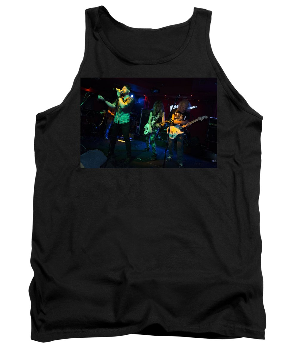 Ritchie Blackmore Tank Top featuring the photograph Ronnie Romero 23 by Pablo Lopez