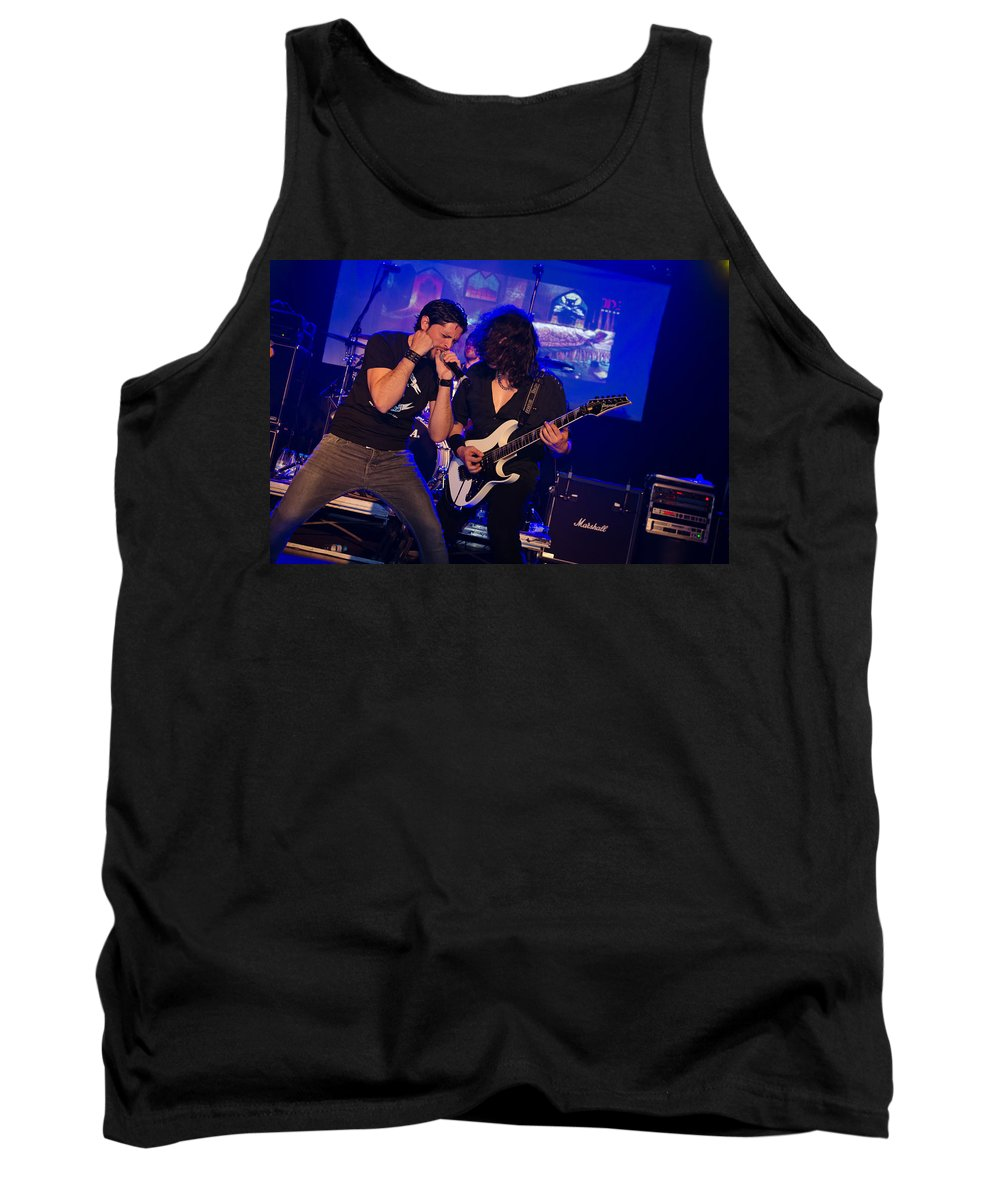 Ritchie Blackmore Tank Top featuring the photograph Ronnie Romero 39 by Pablo Lopez