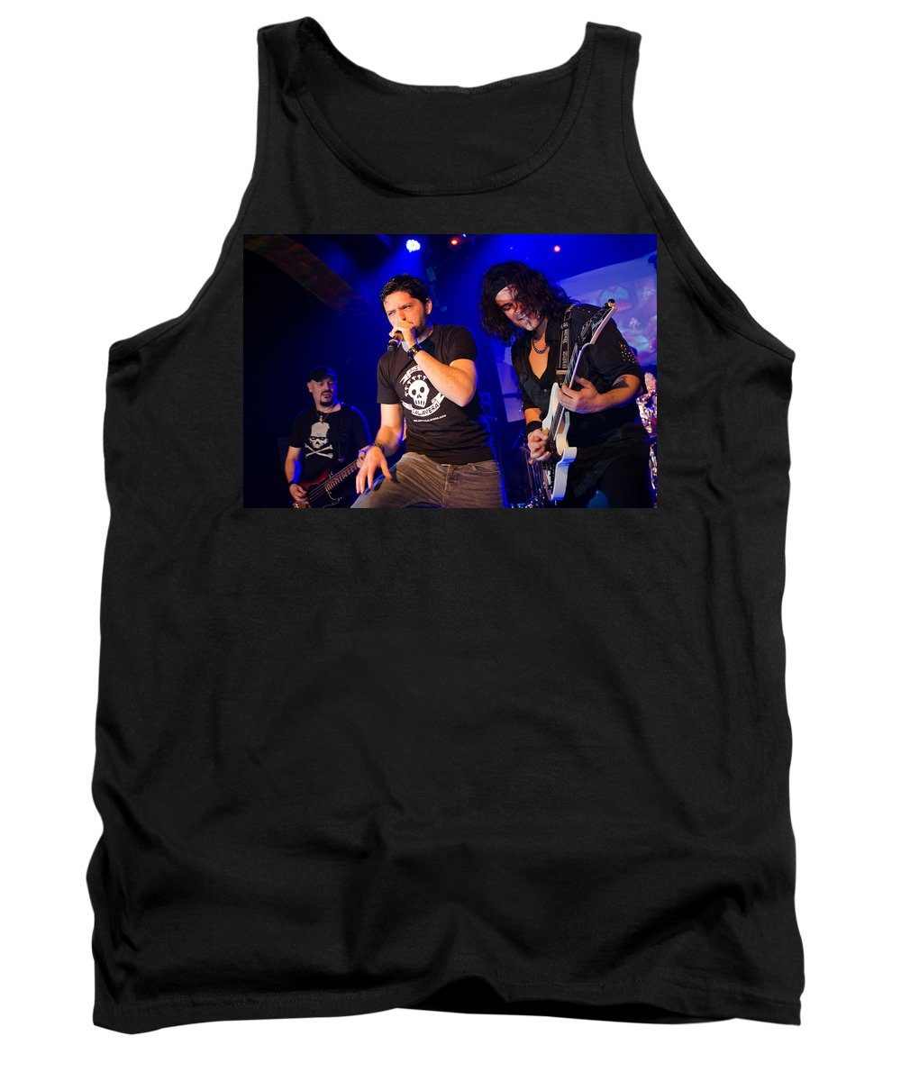 Ritchie Blackmore Tank Top featuring the photograph Ronnie Romero 43 by Pablo Lopez