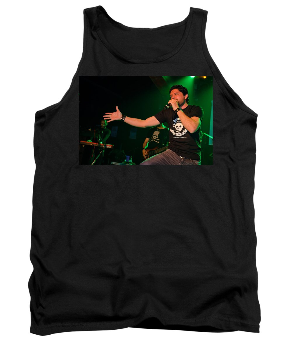 Ritchie Blackmore Tank Top featuring the photograph Ronnie Romero 51 by Pablo Lopez