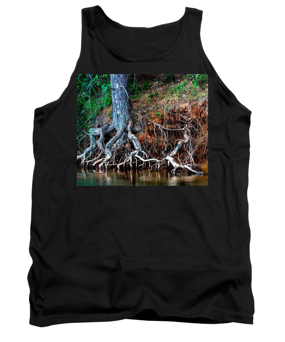 California Nature Tank Top featuring the photograph Rooting Section by Norman Andrus