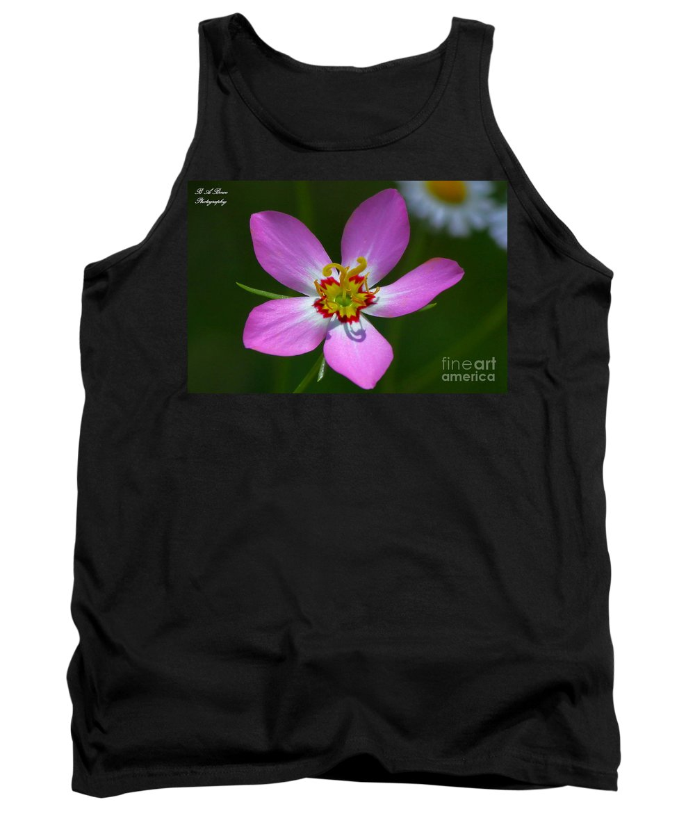 Rose Of Plymouth Tank Top featuring the photograph Rose Of Plymouth by Barbara Bowen