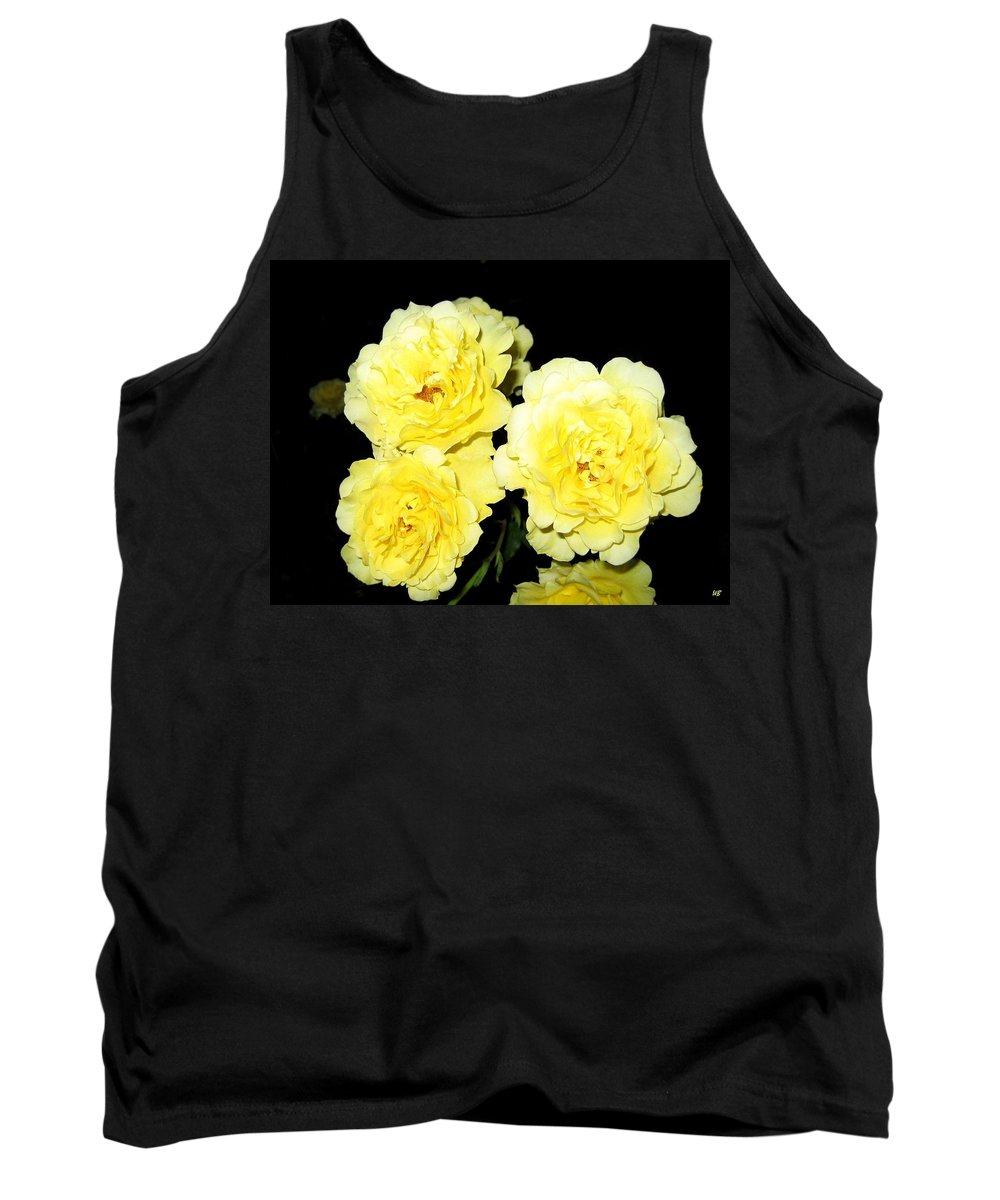 Roses Tank Top featuring the photograph Roses 11 by Will Borden