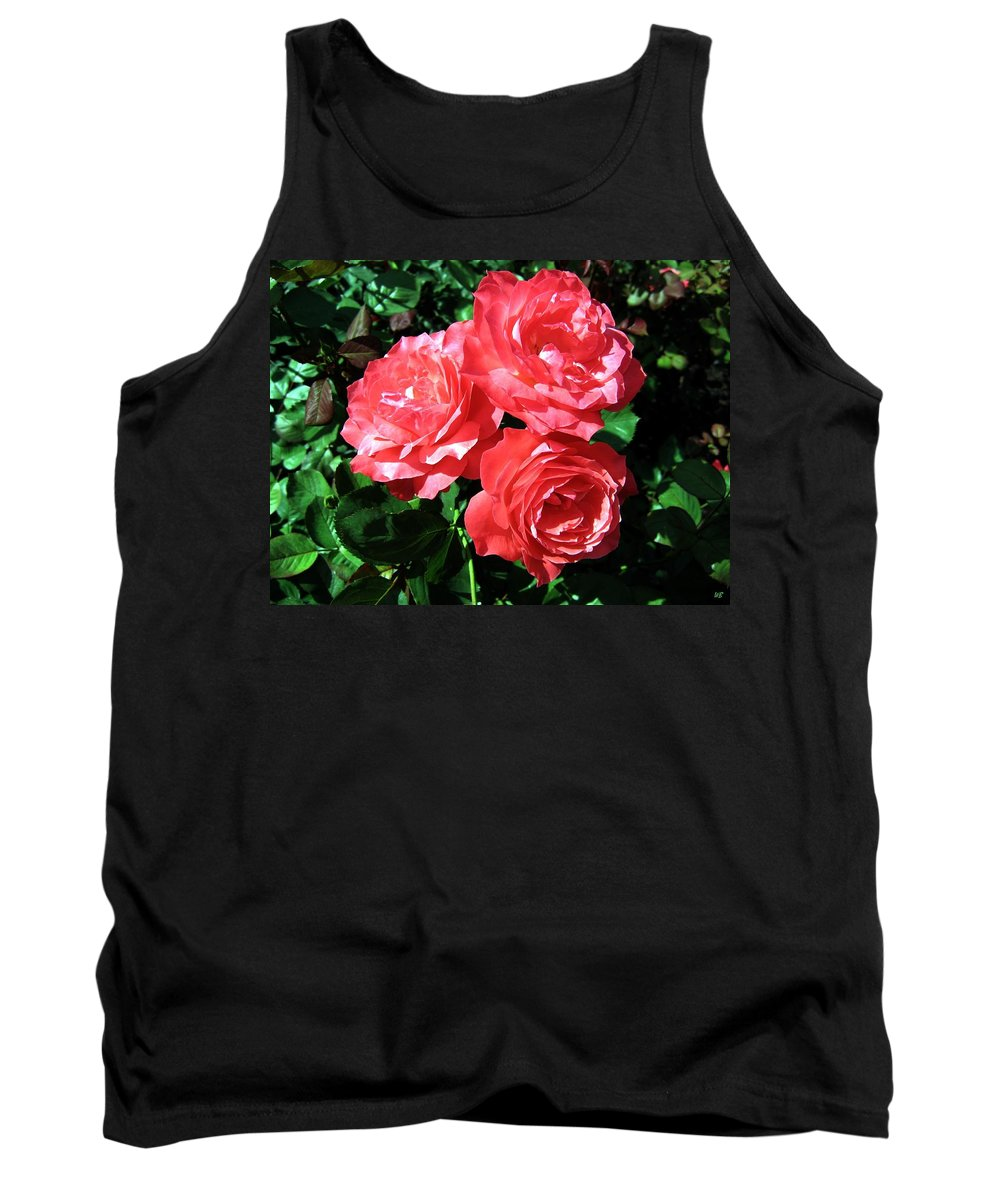 Roses Tank Top featuring the photograph Roses 9 by Will Borden
