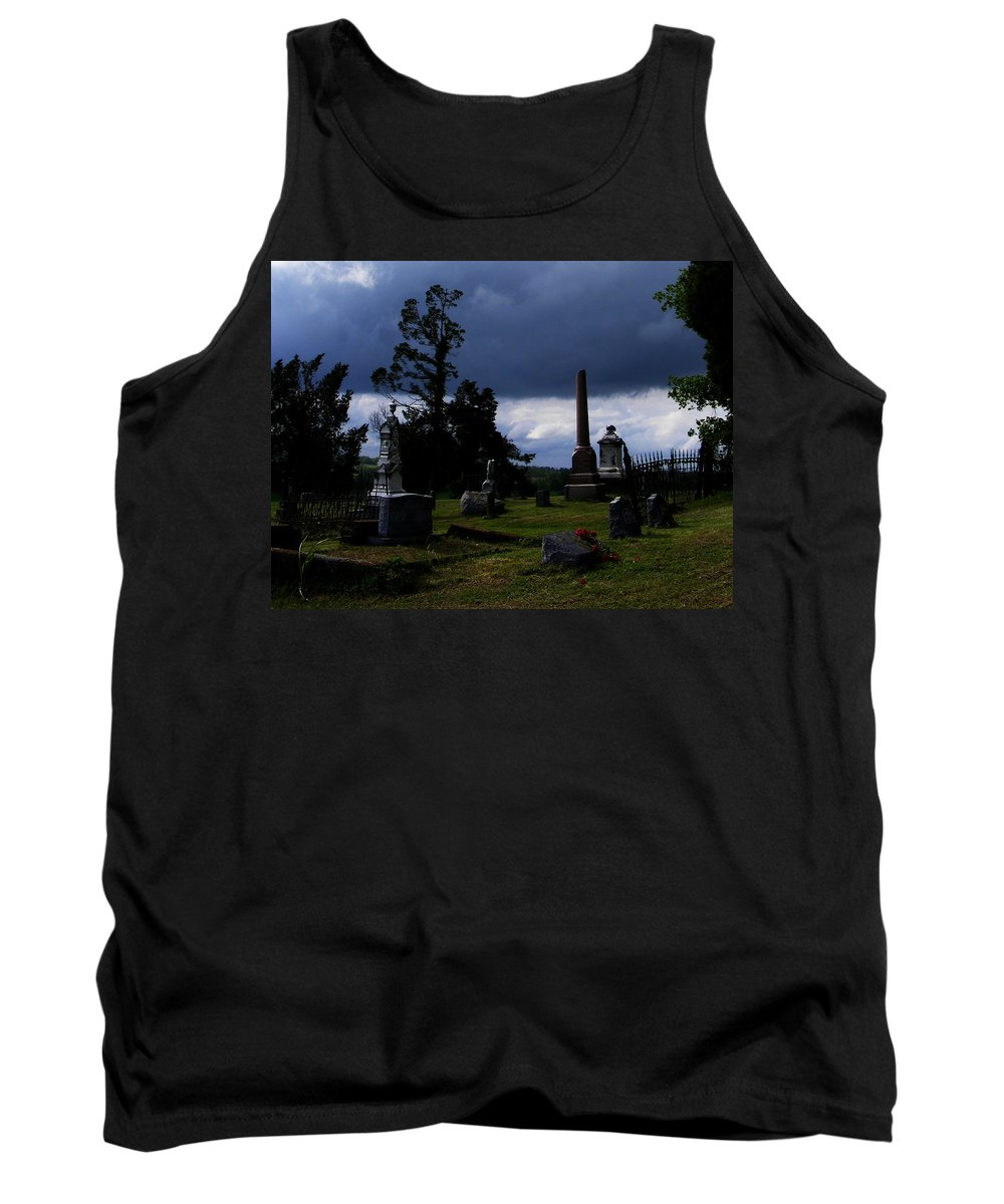 Landscape Tank Top featuring the photograph Roses After The Storm by Rachel Christine Nowicki