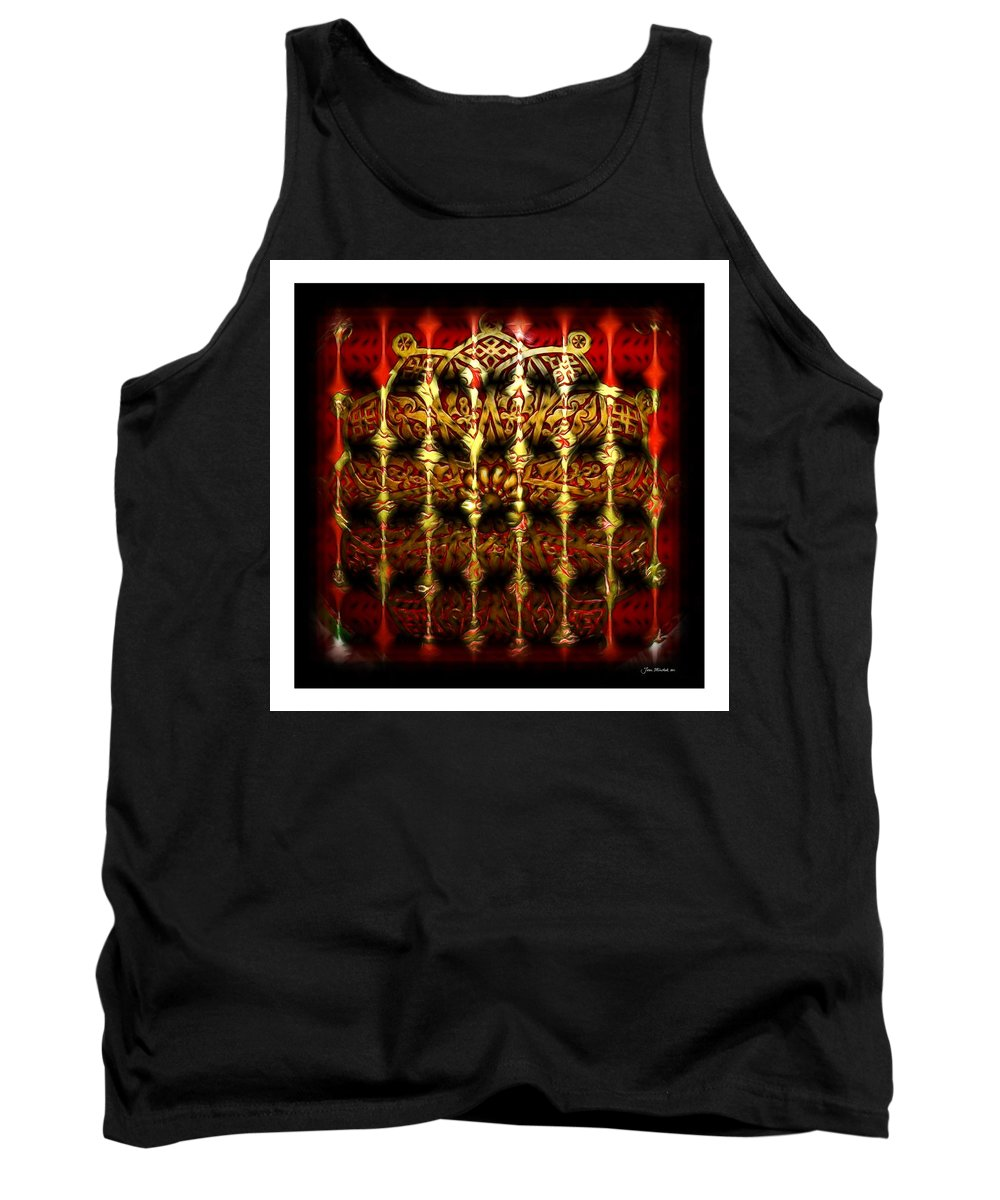 Abstract Tank Top featuring the photograph Rounded Abstract by Joan Minchak