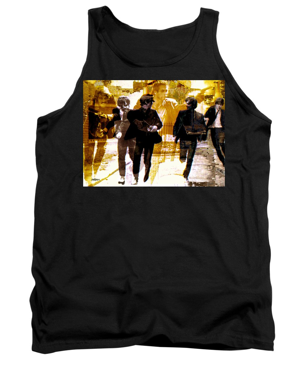 Beatles Tank Top featuring the photograph Running Under The Gun by Seth Weaver