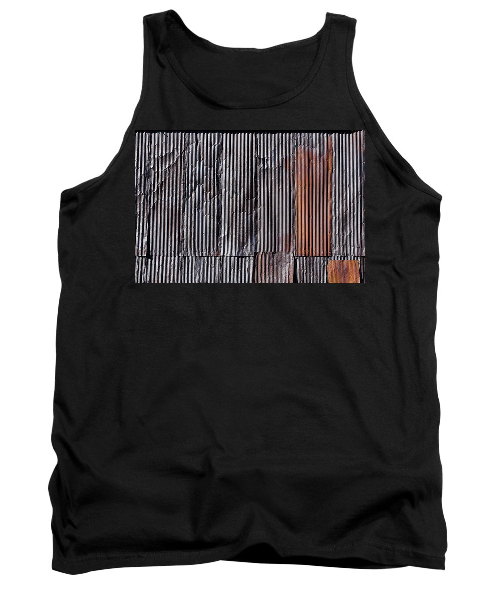 Metal Tank Top featuring the photograph Rust by Kelley King