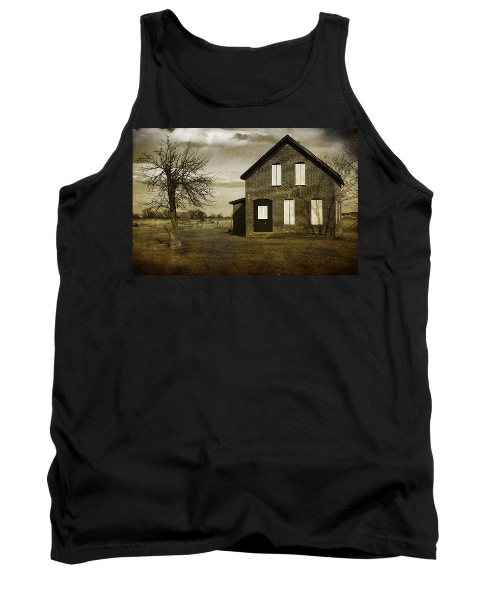House Tank Top featuring the photograph Rustic County Farm House by James BO Insogna