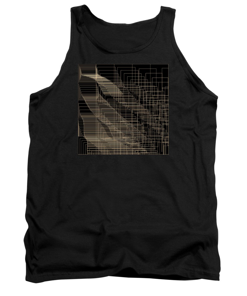 Abstract Tank Top featuring the digital art S.2.23 by Gareth Lewis