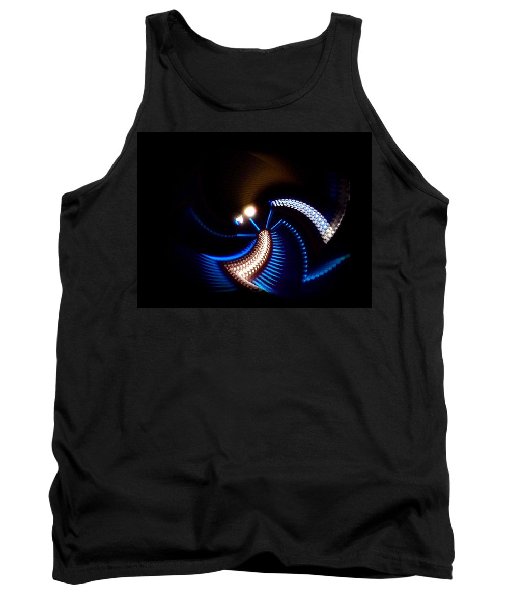 Chaos Tank Top featuring the painting Sabre Dance by Charles Stuart