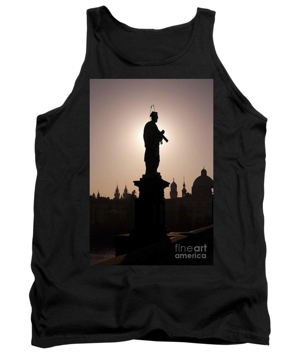 Prague Tank Top featuring the photograph Saint by Michal Boubin