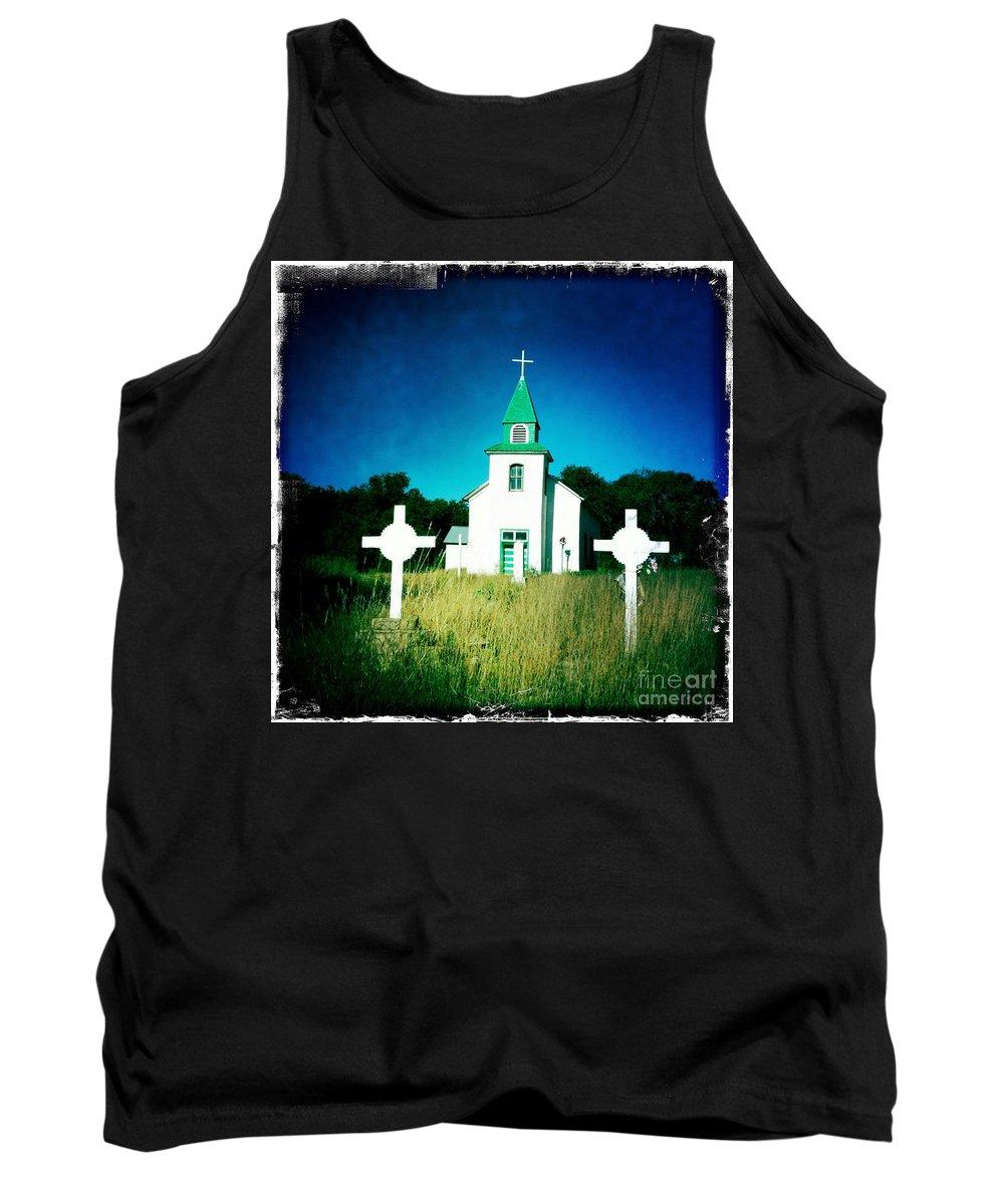 Church Tank Top featuring the photograph San Patricio Church IIi by Matt Suess