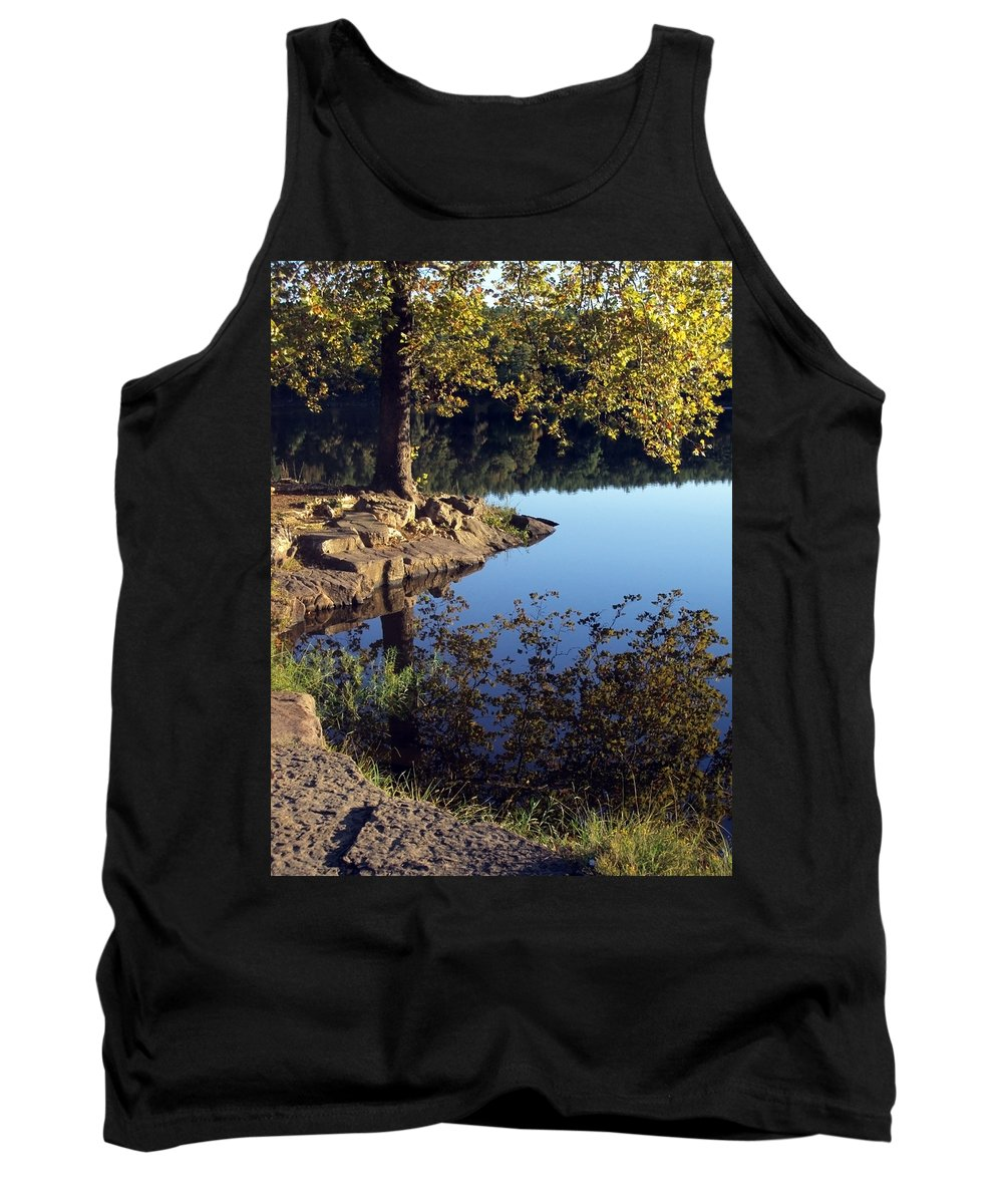 Landscape Tank Top featuring the photograph Sanctuary by Angelina Vick
