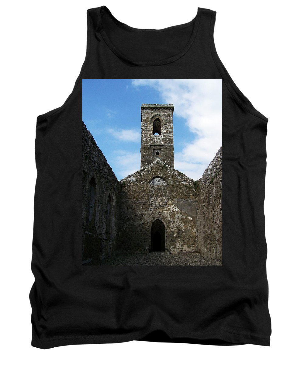 Ireland Tank Top featuring the photograph Sanctuary Fuerty Church Roscommon Ireland by Teresa Mucha