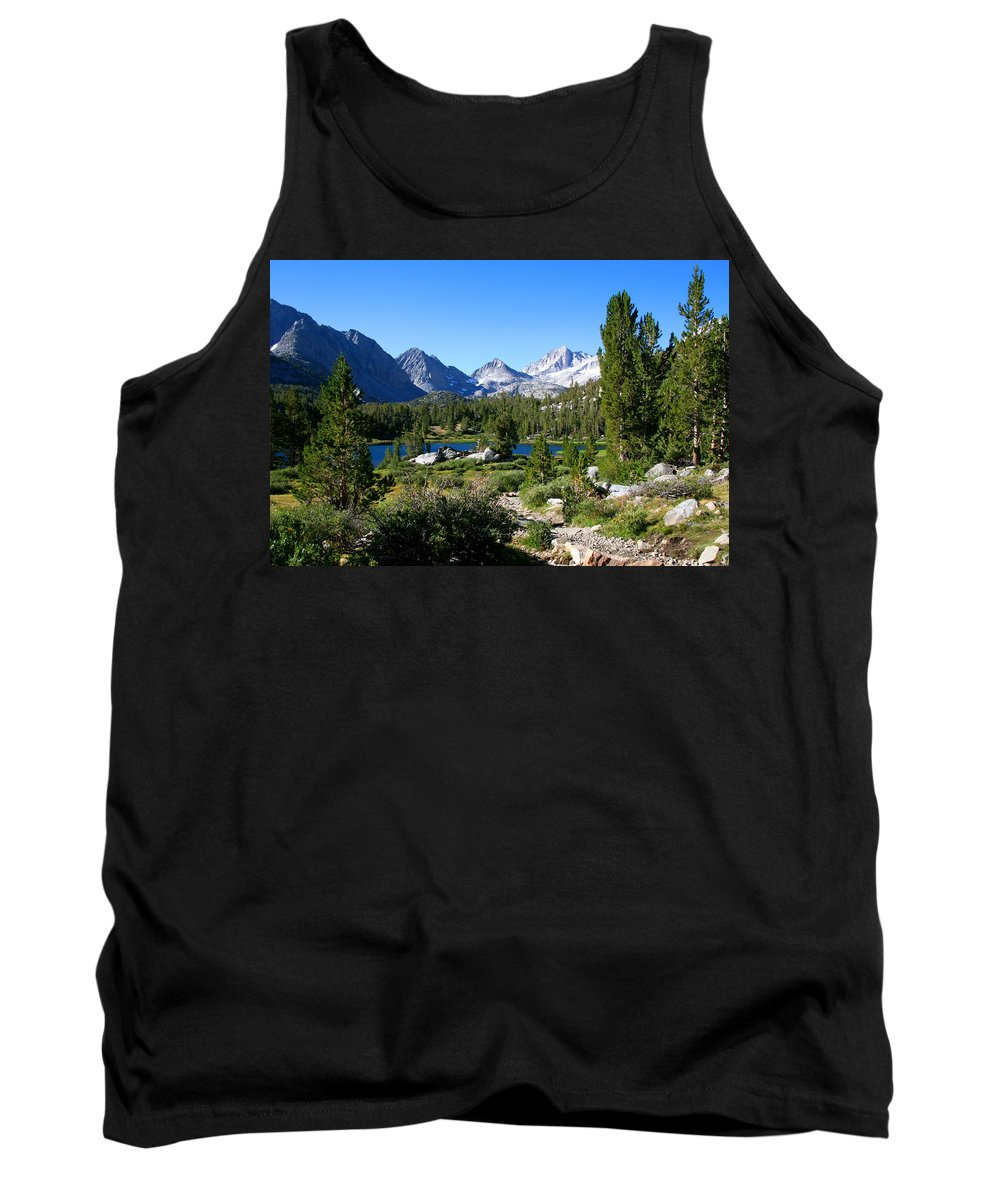 Scenic Mountain View Tank Top featuring the photograph Scenic Mountain View by Chris Brannen
