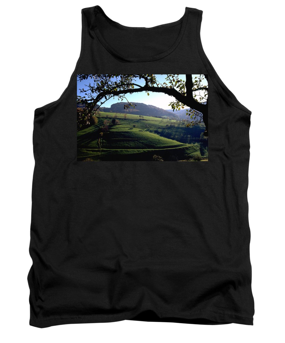 Schwarzwald Tank Top featuring the photograph Schwarzwald by Flavia Westerwelle