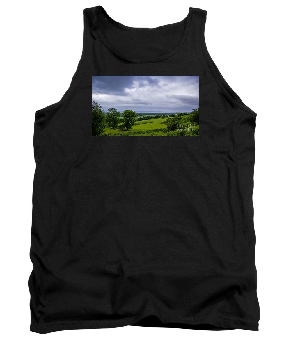Scotland Tank Top featuring the photograph Scottish Countryside 1 by Nancy L Marshall