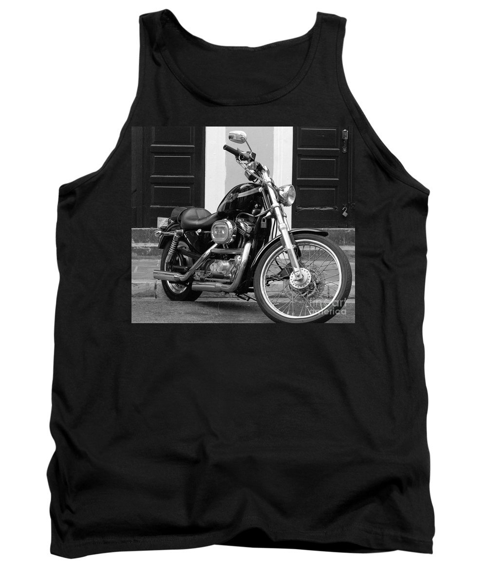 Motorcycle Tank Top featuring the photograph Screamin Eagle by Debbi Granruth
