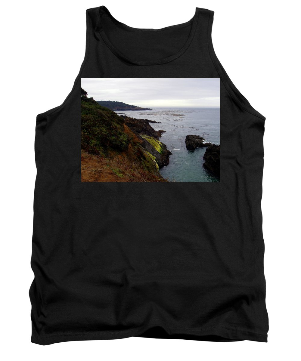 Seaside Tank Top featuring the photograph Seaside by Deborah Crew-Johnson